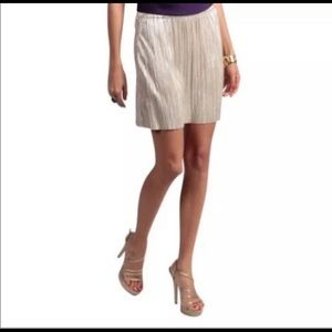 BCBG Gold skirt